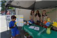 Girl Scout tent