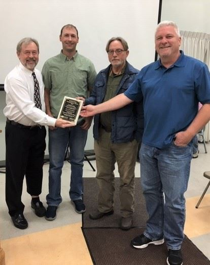 WWTP Award photo