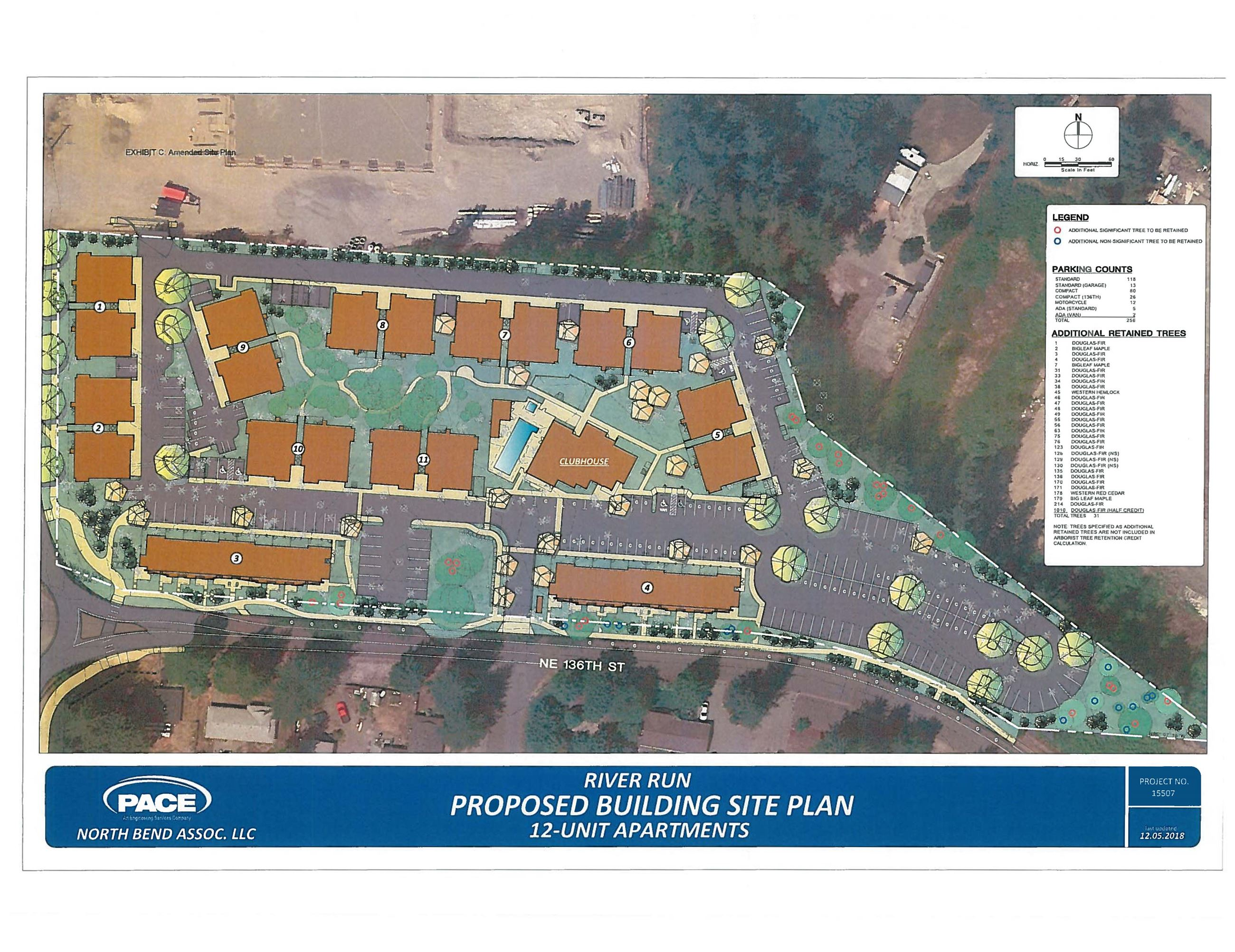 River Run Apartment Site Plan