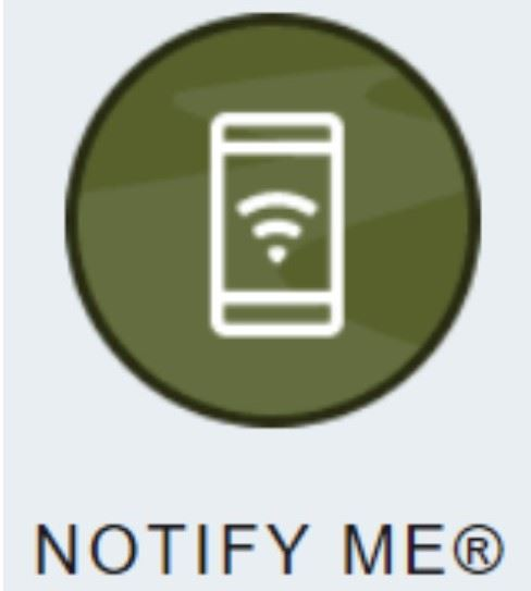 Notify me button