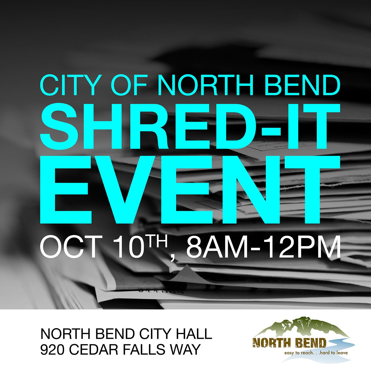 North Bend Shred It Event