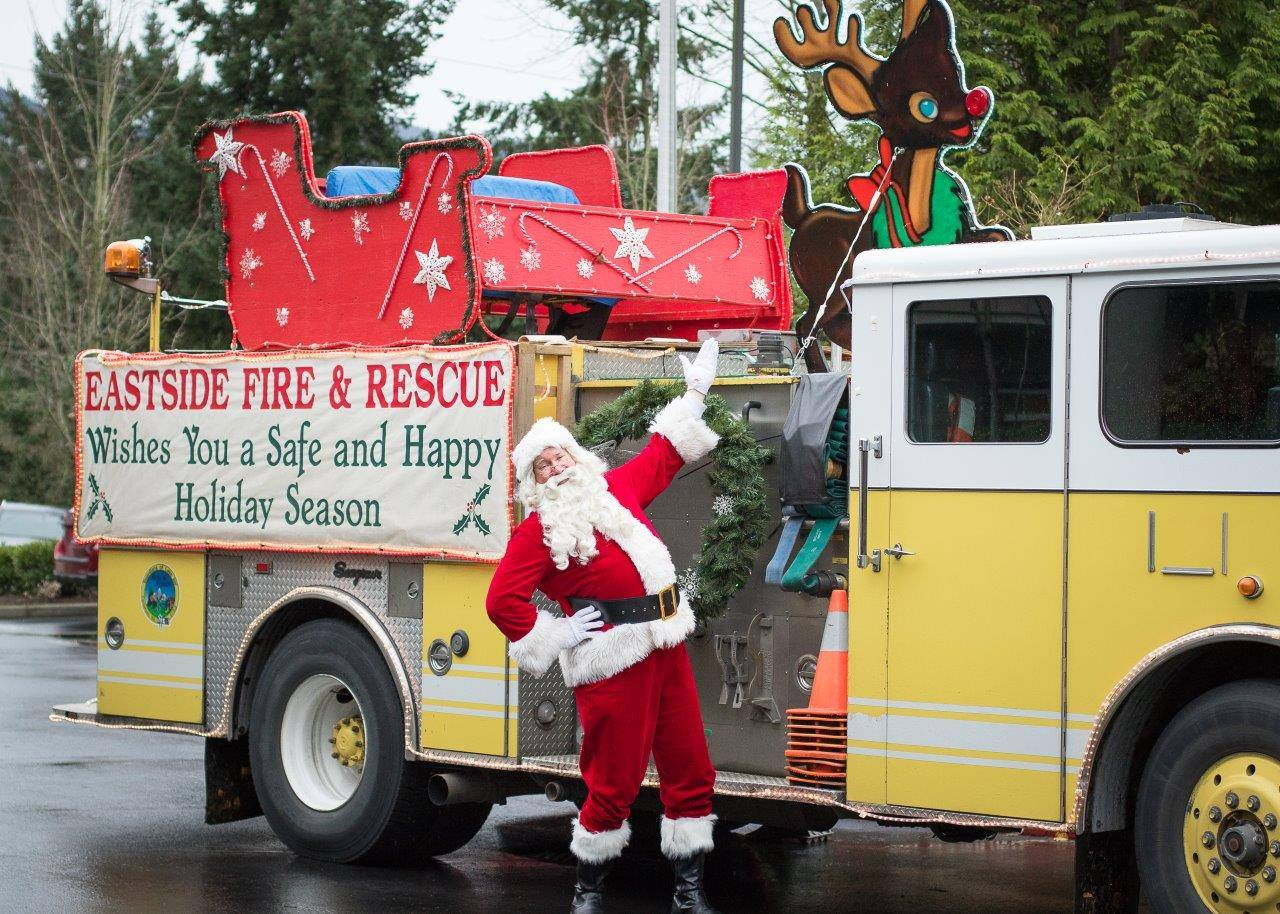 EFR holiday truck
