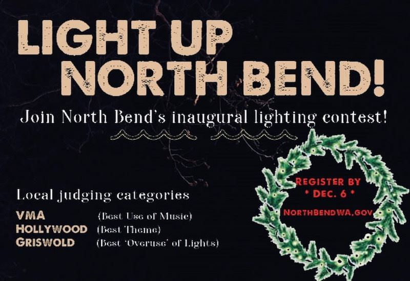 Light up North Bend social media