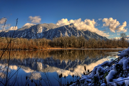 Mt Si in Winter