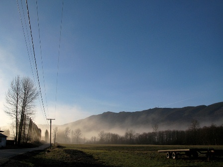 Sunrise in Snoqualmie Valley