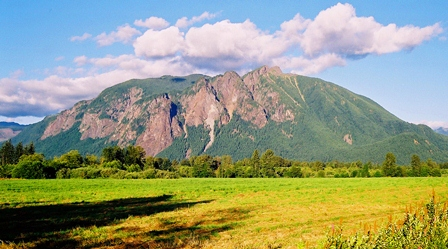 Mt Si in Summer