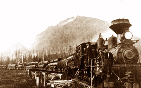 Logging Train near Tanner Landing.jpg